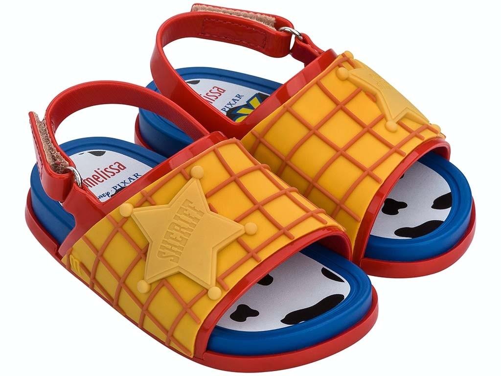 Sandalias Mini Melissa Beach Slide Toy Story Woody