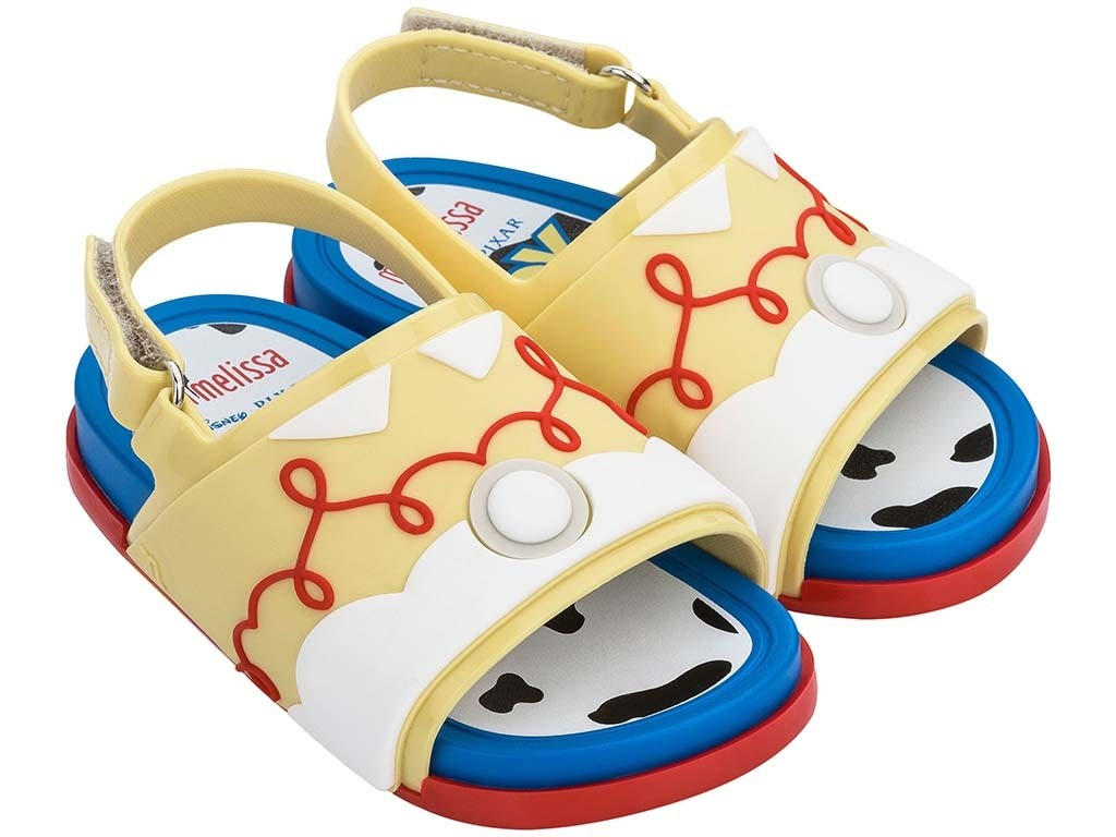 Sandalias Mini Melissa Beach Slide Toy Story Jessie